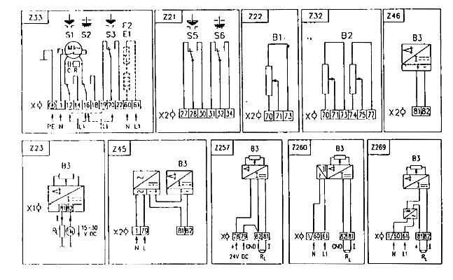 Z21 - Схема присоединения