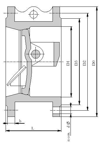 Вентиль игольчатый регулирующий, под электропривод ЭП-Р-300-12-Б1-Т-А